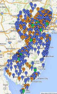 Participating Communities Map