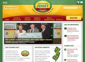 Sustainable Jersey website
