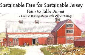 Sustainable Fare dinner